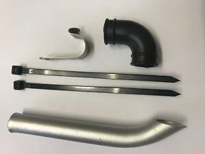 Aowei Yama Buggy Spare Parts Y61202 Upgraded Metal Exhaust Pipe 1/5 Scale Petrol