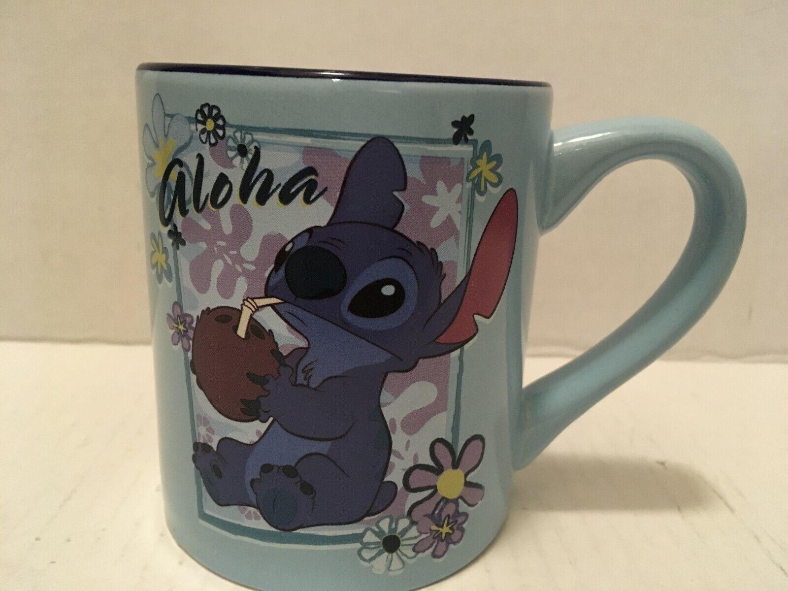 Disney Store Stitch Coffee Mug 10 Oz - Lilo & Stitch - Micro
