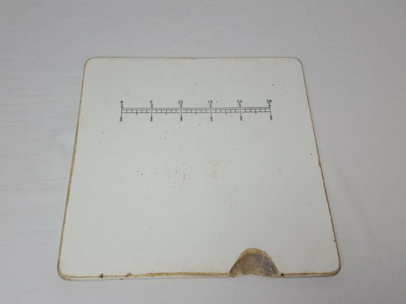 Antique Apothecary Porcelain Pill Tile Druggist Ceramic Pharmacy Germany