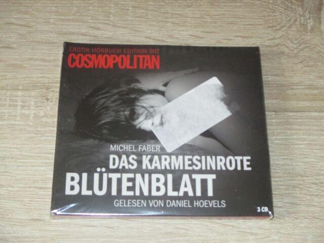 Das Karmesinrote Blütenblatt  Michel Faber  NEU OVP  Hörbuch  3 CD