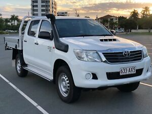 2014 Toyota Hilux SR 3.0L Dual cab 4x4 Ute Manual Southport Gold Coast City Preview