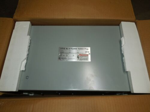 Siemens Ite Uv423g 100a 3ph 4w W/ Ground 240v Xl-u Fusible Bus Plug New Surplus