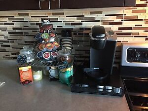 Keurig Coffee Maker with TWO Pod holders for $100 OBO