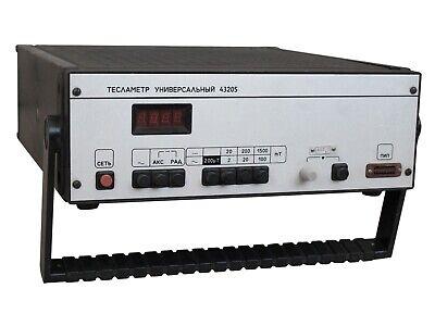 0-1.5t 05 43205 Teslameter Gaussmeter Magnetometer An-g Alpha Lab F.w. Bell