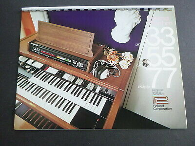 Vintage ROLAND Orghans, and Accessories  Catalog - 197