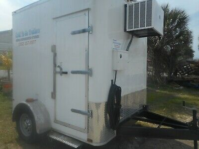 Refrigerated Walk In Coolerfreezer Trailers Custom 2020 No Waiting Ready Pup