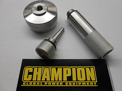 Champion 2000 W Generator Ext Run Gas Cap Oil Fill Drain Plug Combo - New Model