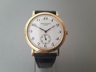 PATEK PHILIPPE 18 CT ROSE GOLD WITH BOX & ARCHIVE CERTIFICATE
