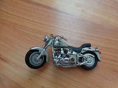 1/24 Franklin Mint Clásico 1990 Grasa Niño Harley Davidson Moto Bicicleta