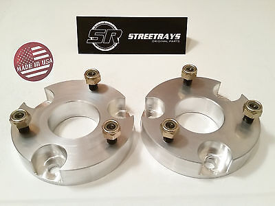 "StreetRays CNC Billet 1.5"" Front Leveling Spacer Lift Kit 06-10 Dodge Dakota 4WD"