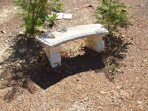 Solid Concrete Featured Garden Seats (2) Bedfordale Armadale Area Preview