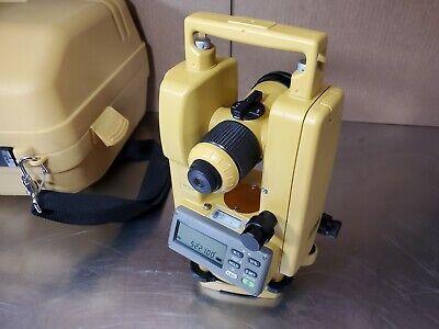 Topcon Dt-209 Digital Theodolite Dt-200 Series W Case Sold W 60 Day Warranty