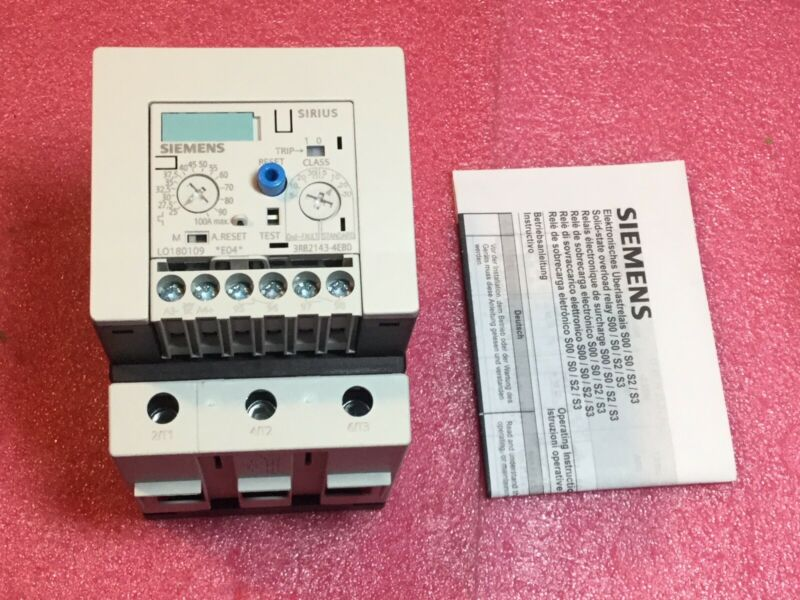 Siemens 3RB21434EB0 Solid State Overload Relay