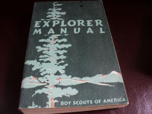 Boy Scouts Of America Vintage Explorer Manual 1952