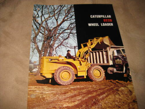 Caterpillar 992B wheel loader brochure