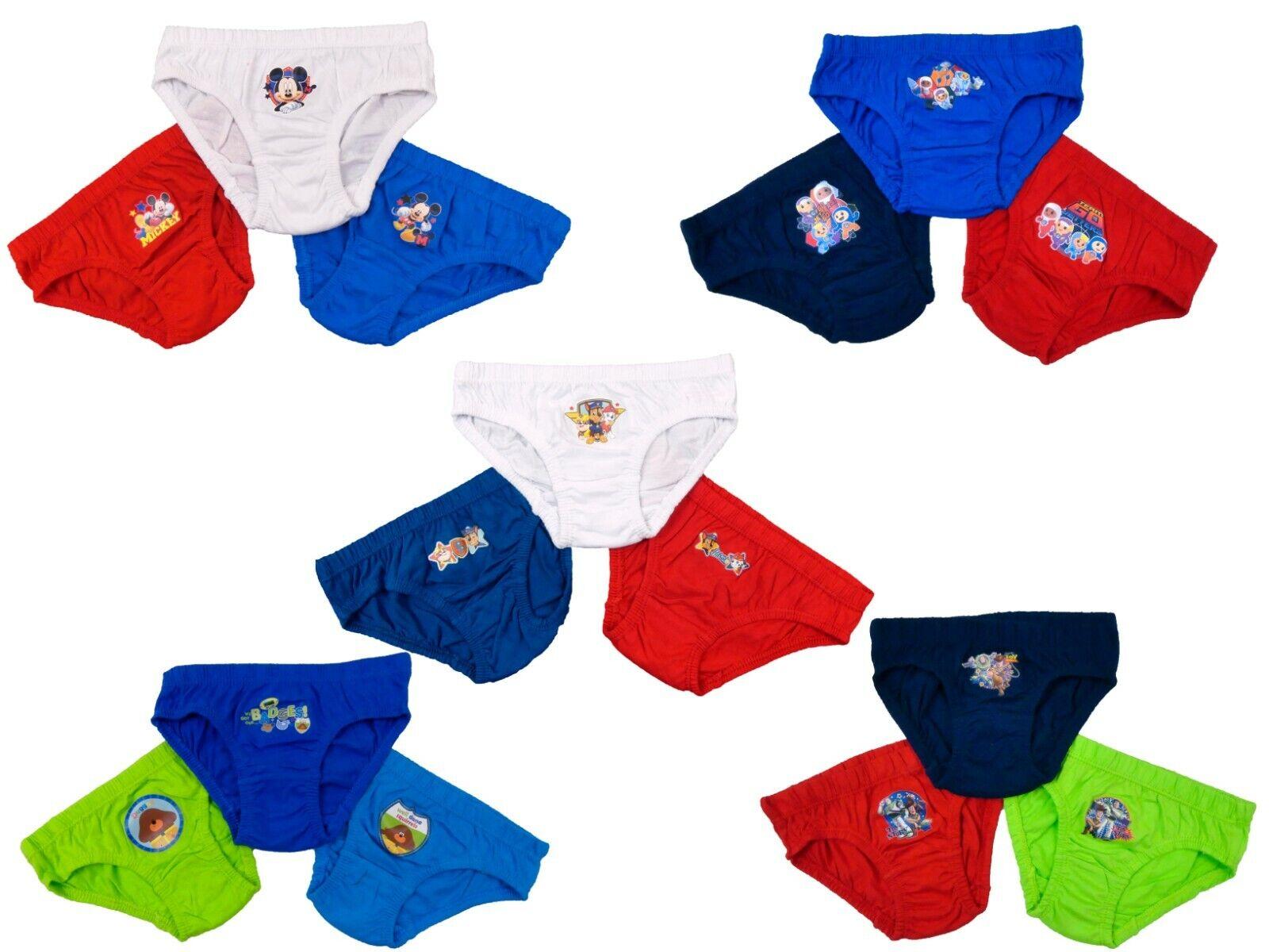 Sizes 18 Months-5 Years Boys GO JETTERS Briefs//Pants /& Vests Set A