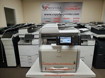 Ricoh Mp 401spf Blackwhite Copier Printer Scanner Fax- Super Low Counts