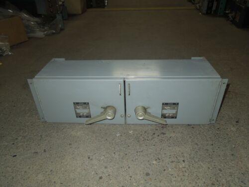 Westinghouse Fdp Unit Fdpt3623r 60/100a 3p 600v Twin Fusible Panelboard Switch