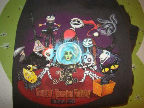 Disney 2003 Nightmare Before Christmas NBC Haunted Mansion Sweatshirt XL