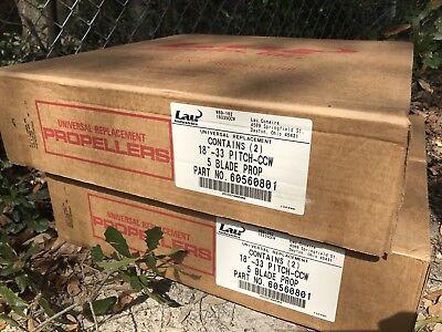Lau 5-blade 18 33 Pitch Ccw Condenser Blade 60560801 Qty 2 Per Box