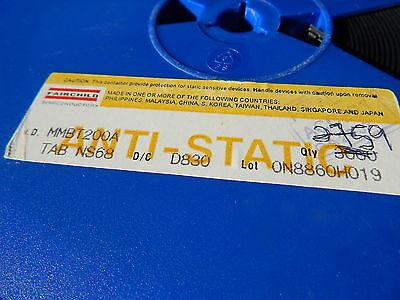 Fairchild Mmbt200a 45v Pnp Gp Transistor Sot-23 Smd - You Get 5 Pieces