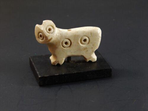 Mesopotamian Carved Limestone Amulet JEMDET NASR PERIOD, Circa 3400 -3000 BC