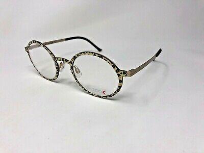 LOOK 10639 5754 Eyeglasses Frame Italy 46-23-140 Leopard Print/Gold Matte (New Look Eyeglasses)
