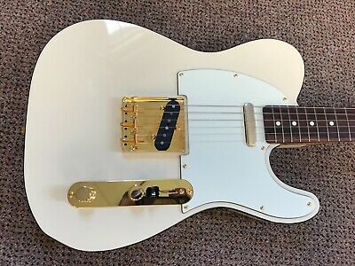Fender Limited Edition Daybreak Telecaster MIJ Japan Olympic White w case