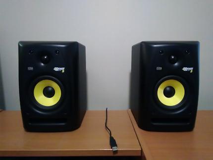 KRK Rokit 5 studio monitors