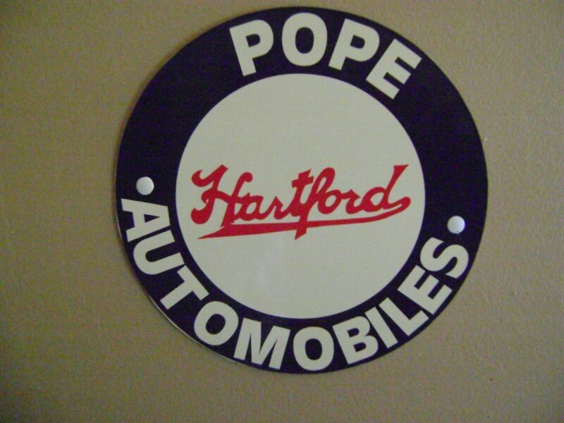 Pope Hartford Garage Sign