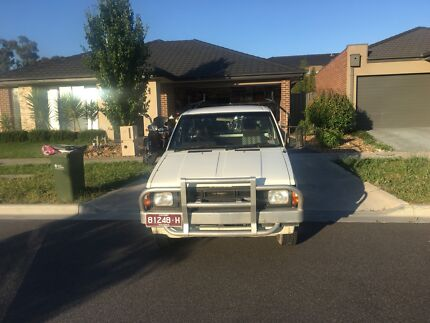Nissan Navara Single cab tray diesel  Epping Whittlesea Area Preview