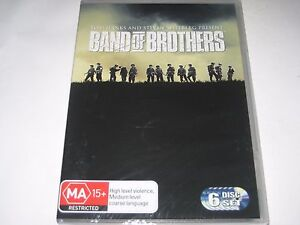 BAND OF BROTHERS dvd NEW/SEALED R4