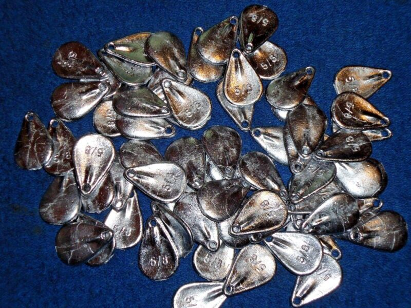 45 No Snag Sinkers 7//8 oz fishing weights FAST FREE SHIPPING