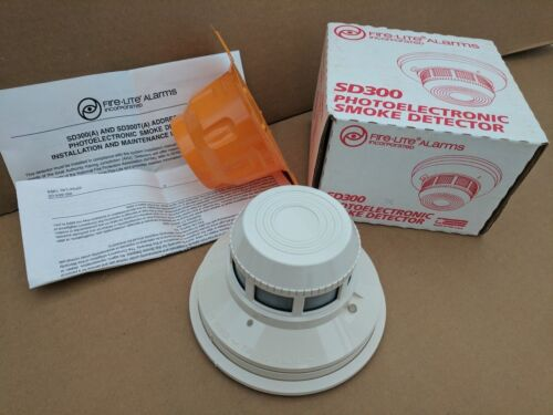 NEW/SEALED FIRELITE FIRE-LITE SD300 PHOTOELECTRIC SMOKE DETECTOR (98 AVAILABLE)