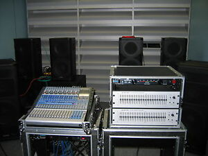 QSC Sound Systems for Rent
