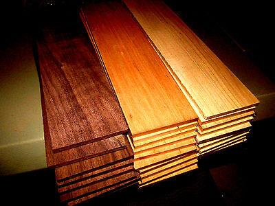 Multipak  27  Kiln Dried Sanded Thin Walnut  Cherry    Beech 12  X 3  X 1 8