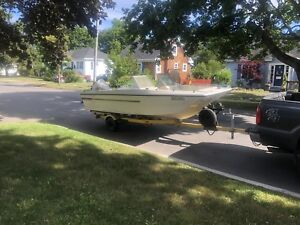 Boat, motor, trailer for sale or trade