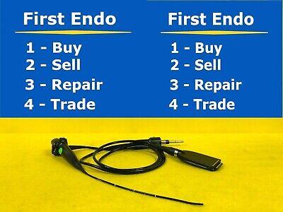 Olympus Enf-v2 Rhinolaryngoscope Endoscope Endoscopy Ntsc 1134-s46