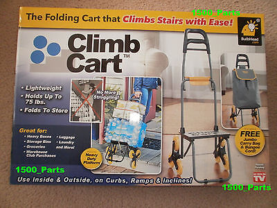 GENUINE Climb Cart, The Original Stair Climbing Folding Cart, 10 YEAR WARRANTY