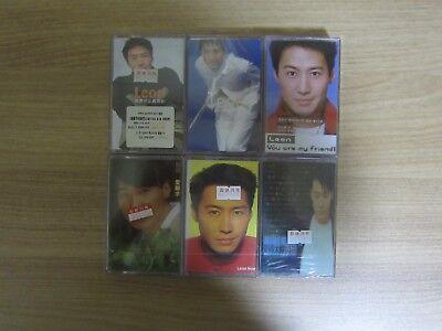 LEON LAI 黎明 Korea 6 Sealed Cassette Tape BRAND NEW