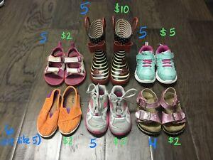 Toddler girl footwear