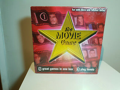 The Movie Game, Board Game 1-6 Players 9 Different games Smart Cookie Designs (Smart Cookies Movie)