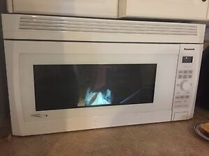 Large Panasonic above range microwave