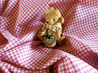 Antique Vintage Blue Chambray Cotton Fabric  ~ dolls bears projects