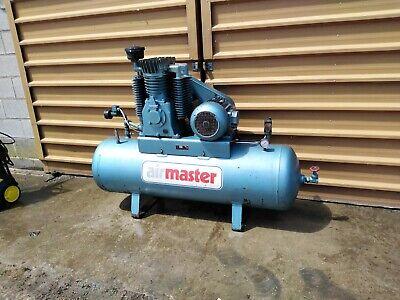 Clarke 40cfm 250Litre 10HP Industrial Air Compressor 400V