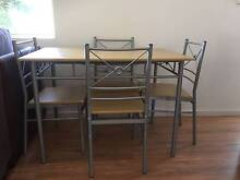 Dining table + 4 chairs North Strathfield Canada Bay Area Preview