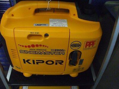 Kipor Digital Generator Ig2000p 105.6cc Brand New