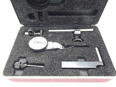 Starrett 811 Swivel Head Dial Indicator Set 811-1cz .001 No Etchings