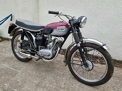 Triumph Tiger Cub Sport T20SH Vintage Motorcycle Project Bike Motorbike