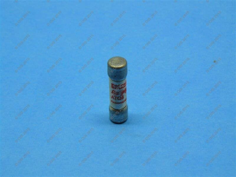 Shawmut ATQ6 Time Delay Fuse Midget 6 Amps 500VAC Tested